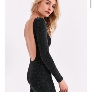 NWT Urban Outfitters sparkly bodycon dress